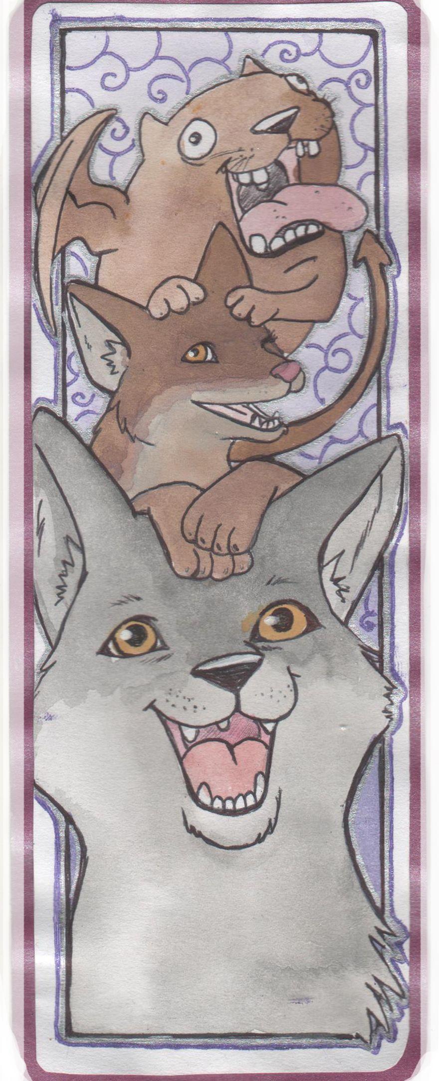 We are more than pets! Rito, Lulu and behemoth Lulu the tasken hound belong to @xkazaliciousx