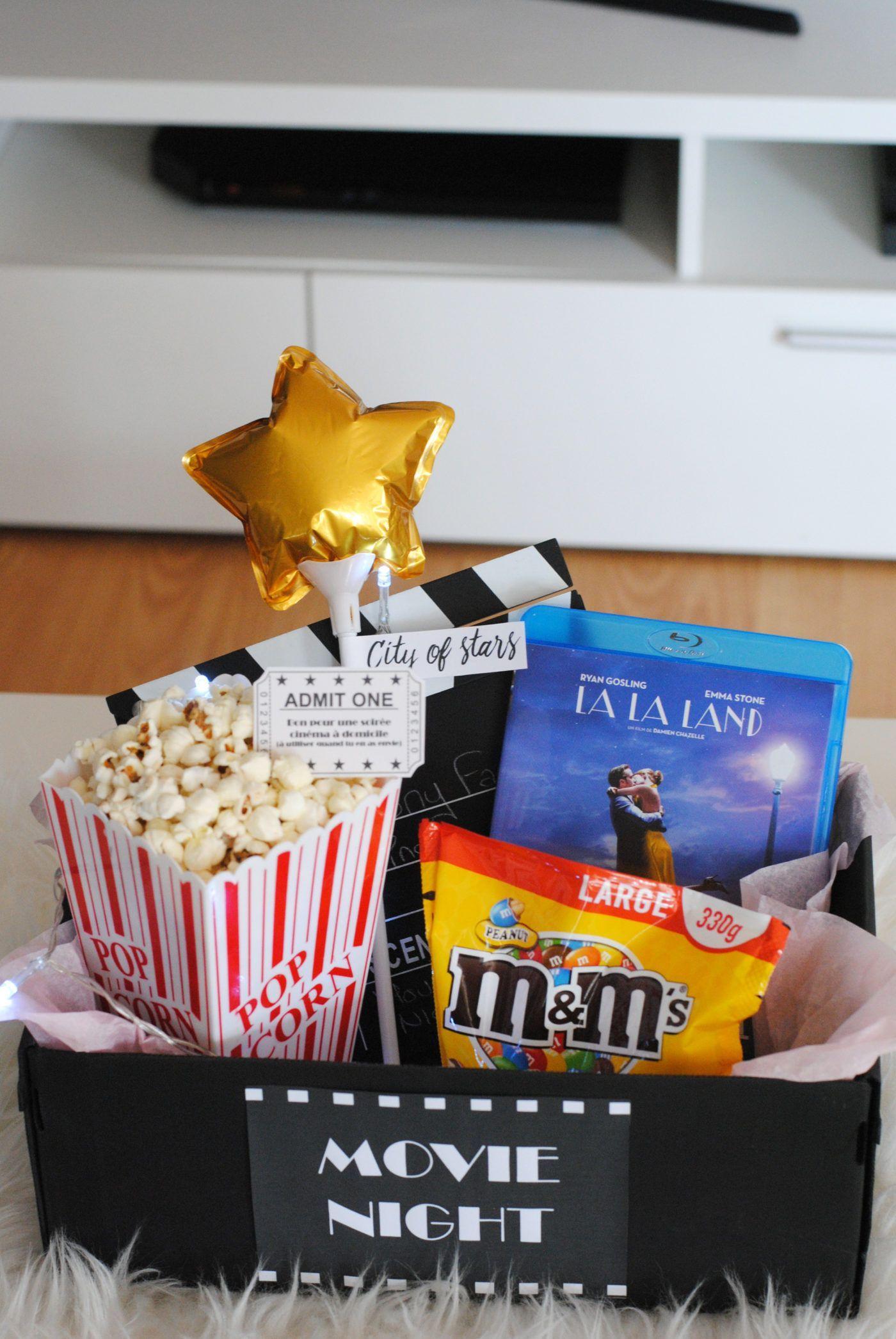 {DIY} Une box cinéma pour la saint Valentin, pour surprendre son amoureux ou so...