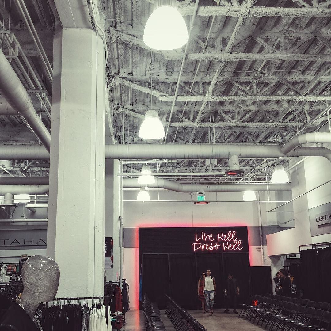 Runway shows are stressful  Rehearsals for Tech Fashion Week #TFW2016 #FashionTech by girlabouttoronto