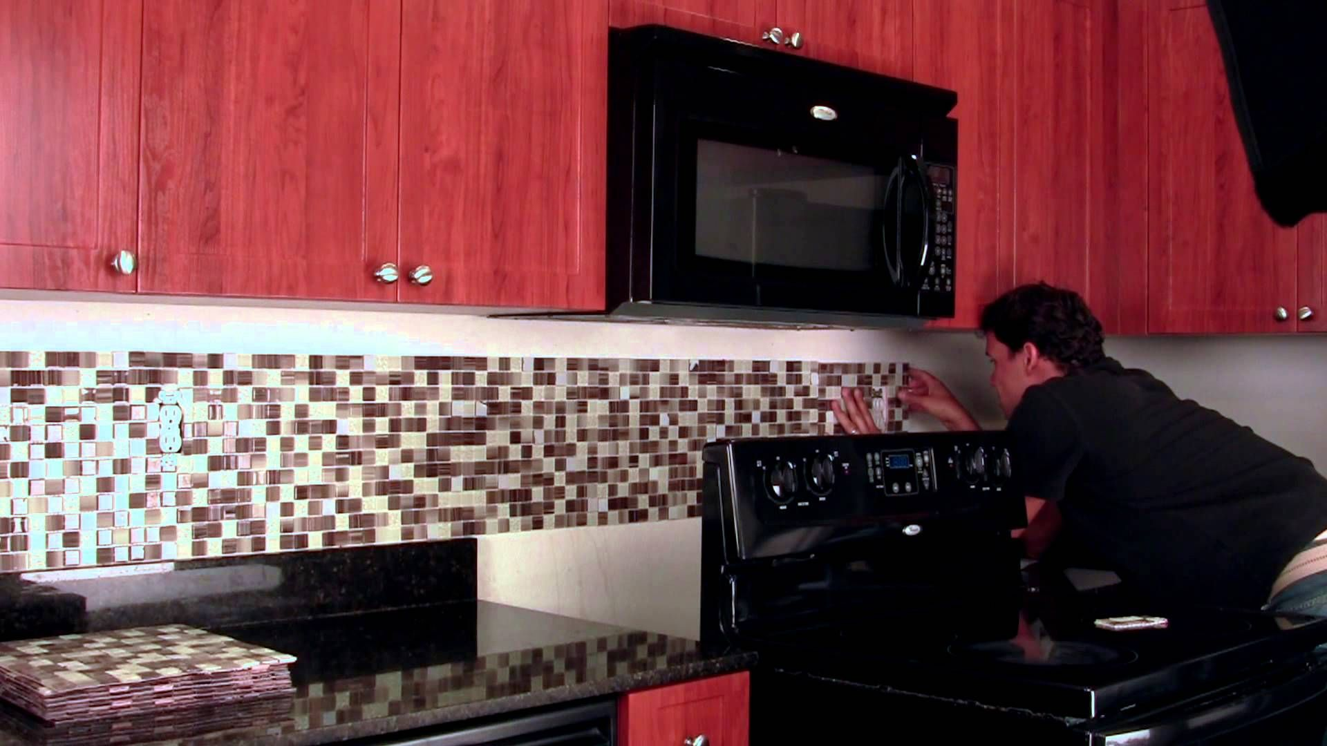 Peel Stick Backsplash Mosaic Tiles Available In Many Colors And