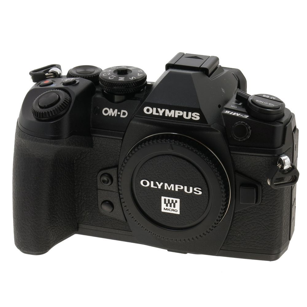 Olympus Om D E M1 Mark Ii Body Very Low Shutter Count No Reserve Photography Gear Accessories Digital Camera Photography Gear