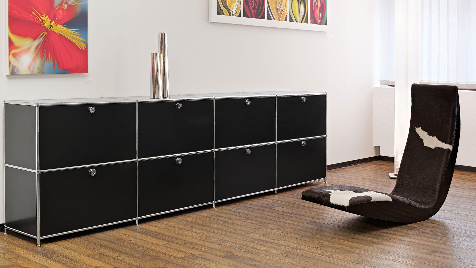 Sideboard Metall Lowboard für Esszimmer, Wohnzimmer und allen ...