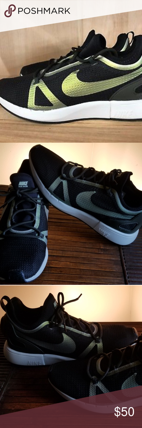 Nike Dual Racer sneakers. New with no
