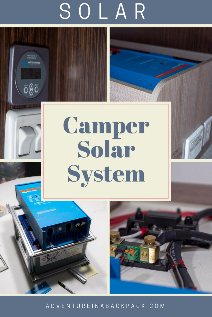 Learn How To Install Solar On A Camper With This Easy Follow Truck Wiring Diagram Diagrams And Step By Information Included Campervan Solarinstallation Campersolar Truckcamper Setup Tutorial