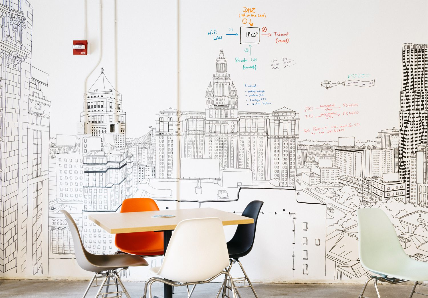 Sedie Sme ~ Ideapaint clear dry erase paint lets you turn any color wall into
