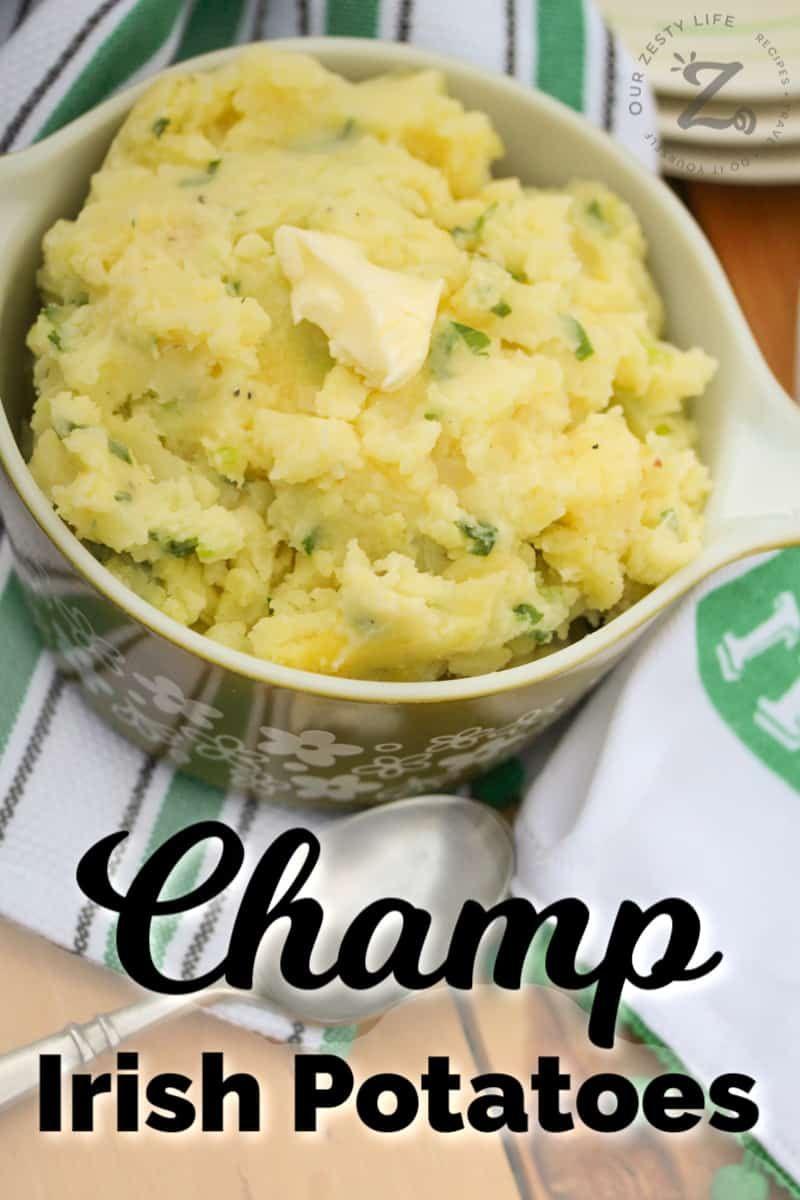 Irish Potato Recipe Irish Champ Our Zesty Life Recipe Irish Potatoes Easy Irish Recipes Irish Recipes