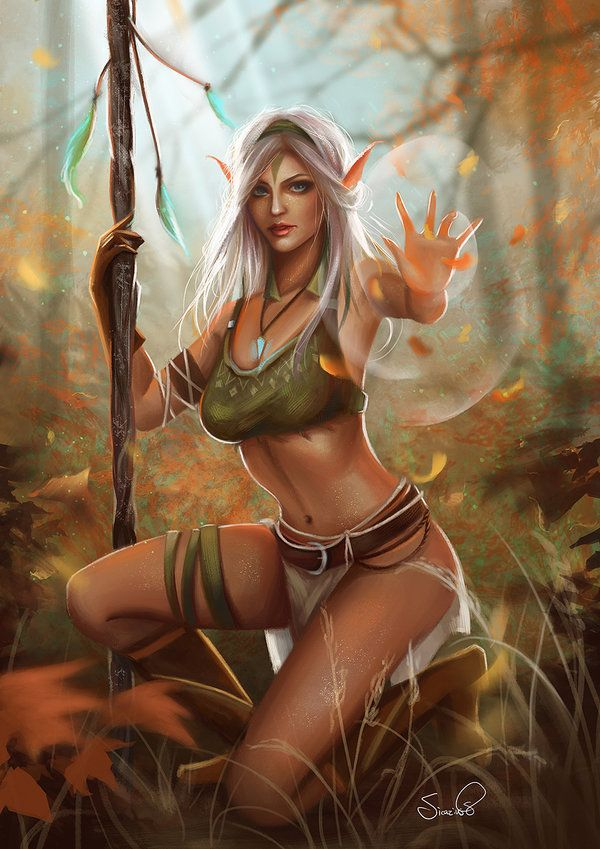 Sexy naked elves girls