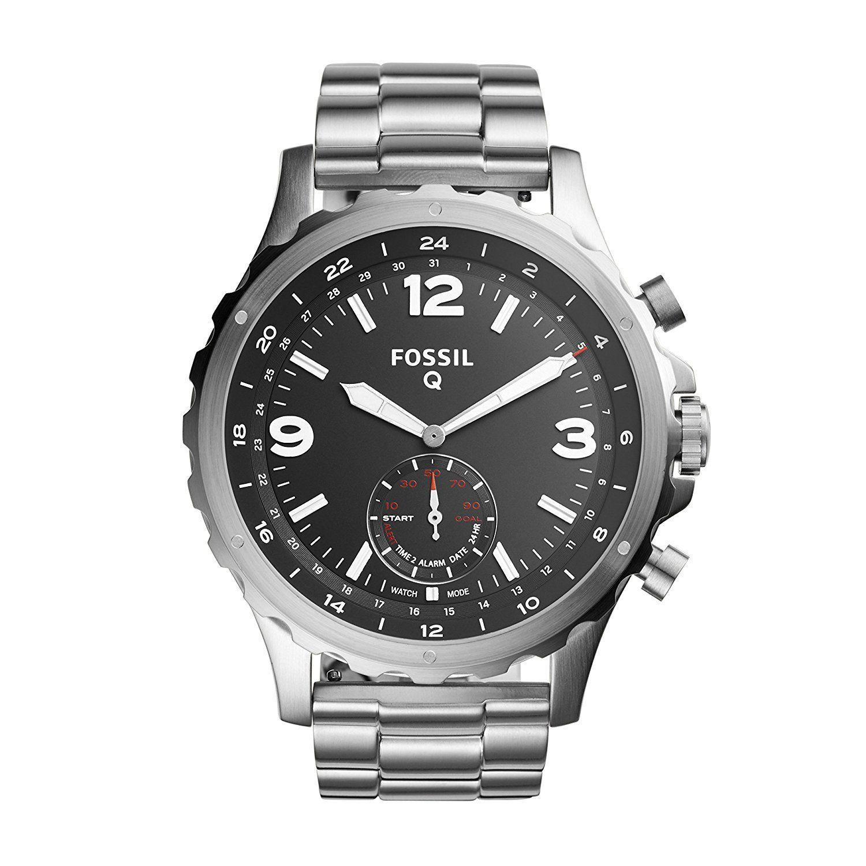 Fossil Men's Hybrid Smartwatch FTW1123 Stainless steel