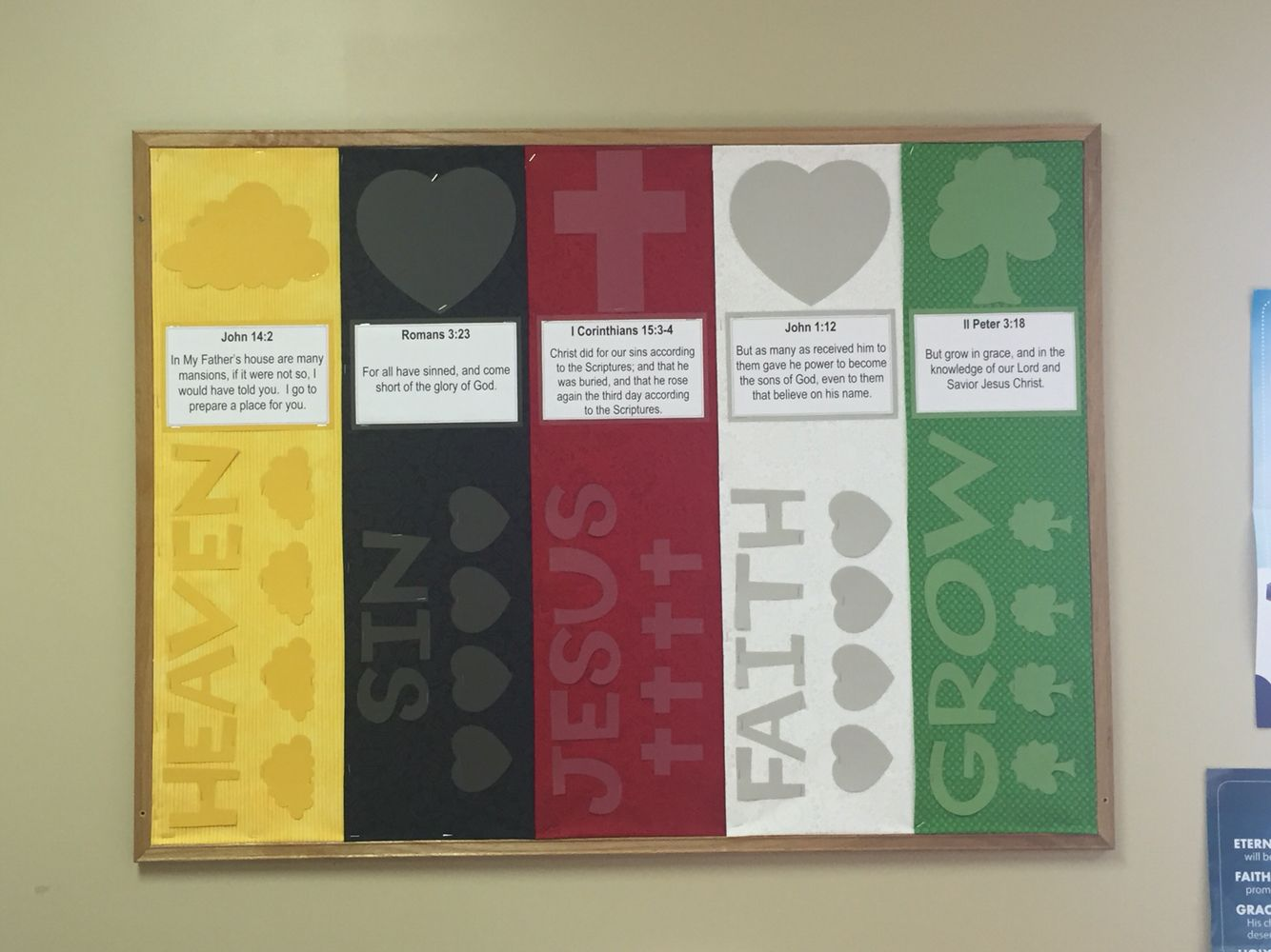 Wordless Book Bulletin Board Bible School Crafts Wordless Book