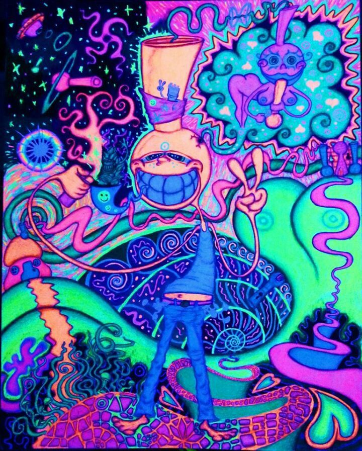 Pin by RikkiLynn Butler on Most Righteous Trippy art