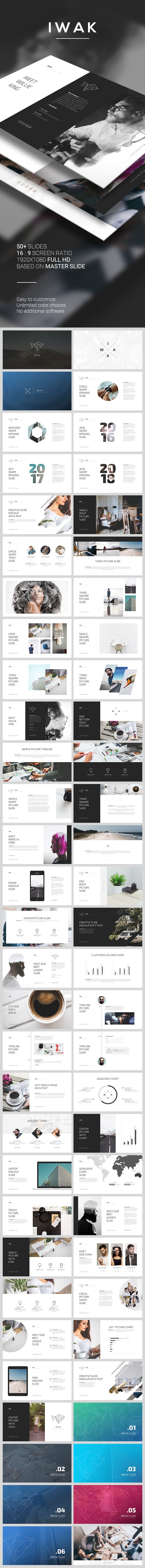 IWAK PowerPoint Template (PowerPoint Templates) | Template, Keynote ...