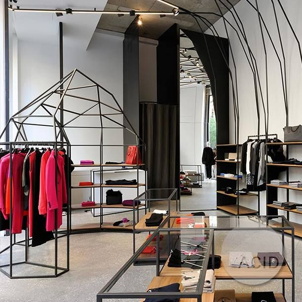 Phenomenal Acidprojects Display Units For Joseph Boutique In Beirut Home Interior And Landscaping Spoatsignezvosmurscom