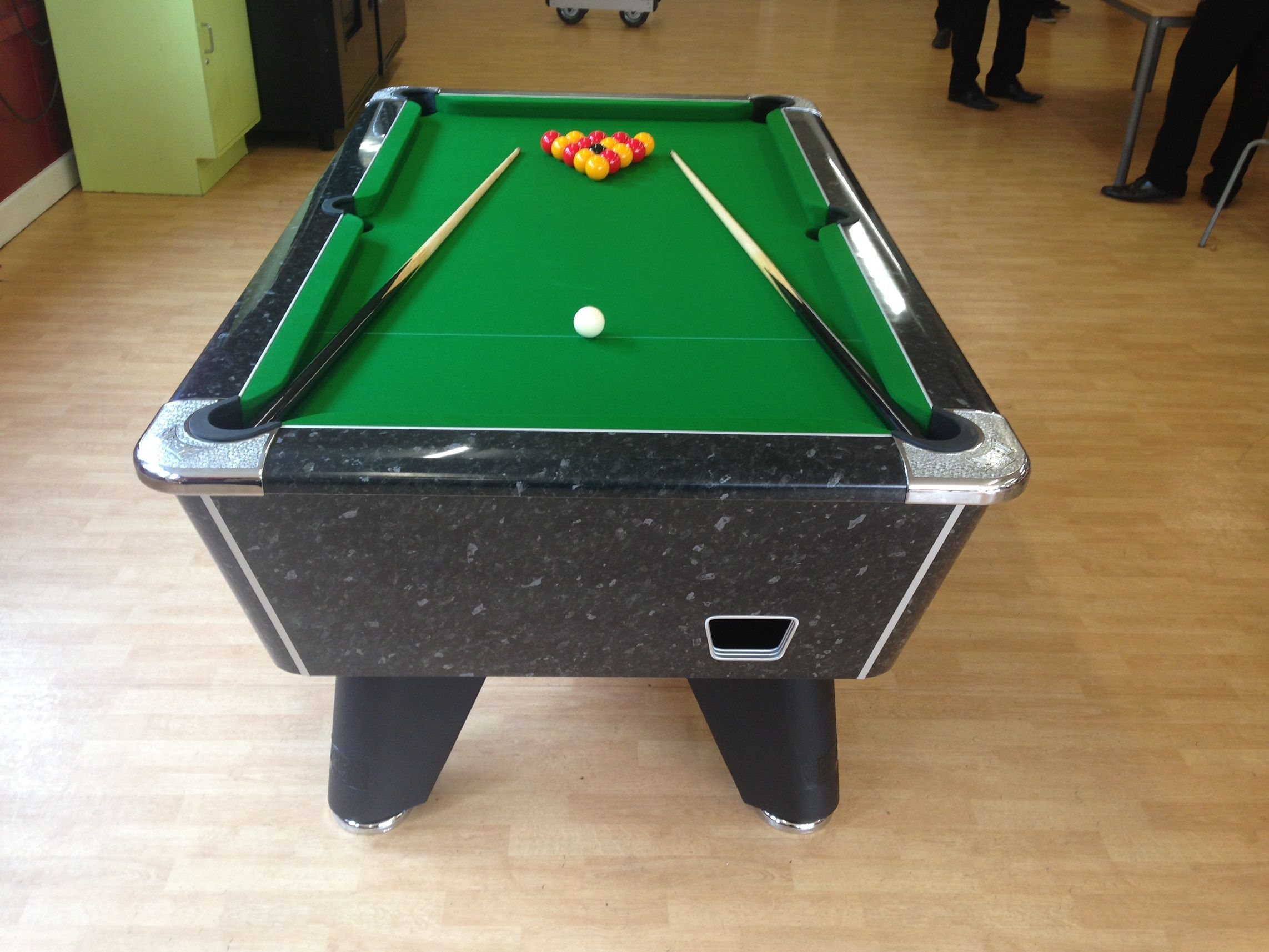 Home Pool Tables By Brand Heywood Supreme Winner Table High Gloss Black Marble