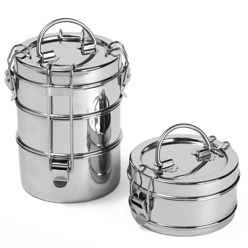 3 Tier Stainless Steel Food Carrier Food to go, Food