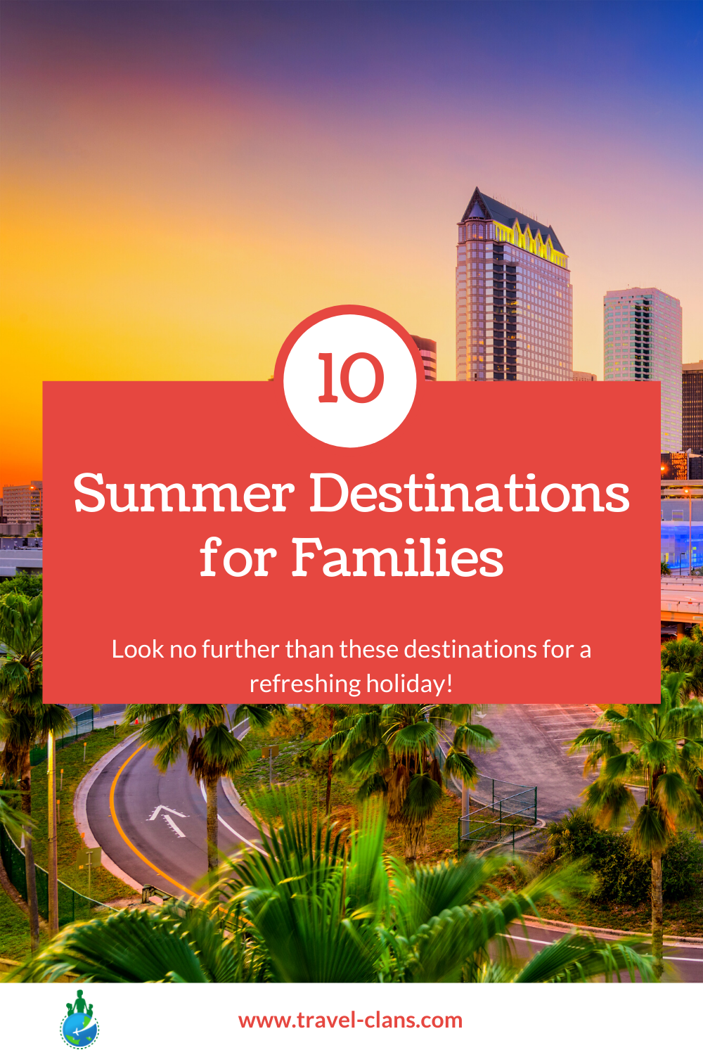 Vacation like the Rich & Famous at these 10 summer destinations for families!  #travelclans #SummerDestinations #SummerVacations #Summer #Tampa #Oslo #Cardiff #SanMarino #Vaduz #Cali #Mexico #FaroeIslands #Newfoundland #Canada #Colombia #Marseille #France #Wales #USA #Norway