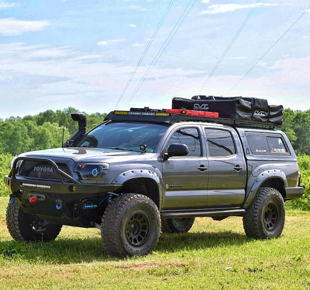 Its Not Too Late For Frontendfriday Who S Apart Of The Pelfreybiltfamily I Know I Am Buildthatshit P Tacoma Truck Toyota Tacoma Toyota Tacoma Roof Rack