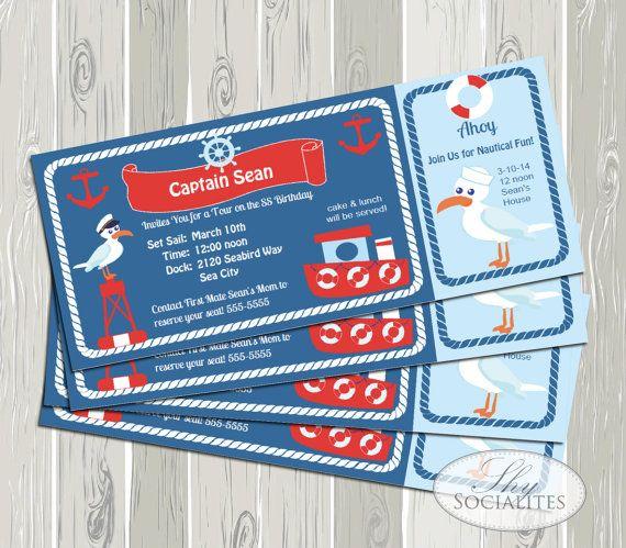 Ticket Invitation   Boat Boarding Pass   Cruise ticket Invitation - best of invitation template boarding pass