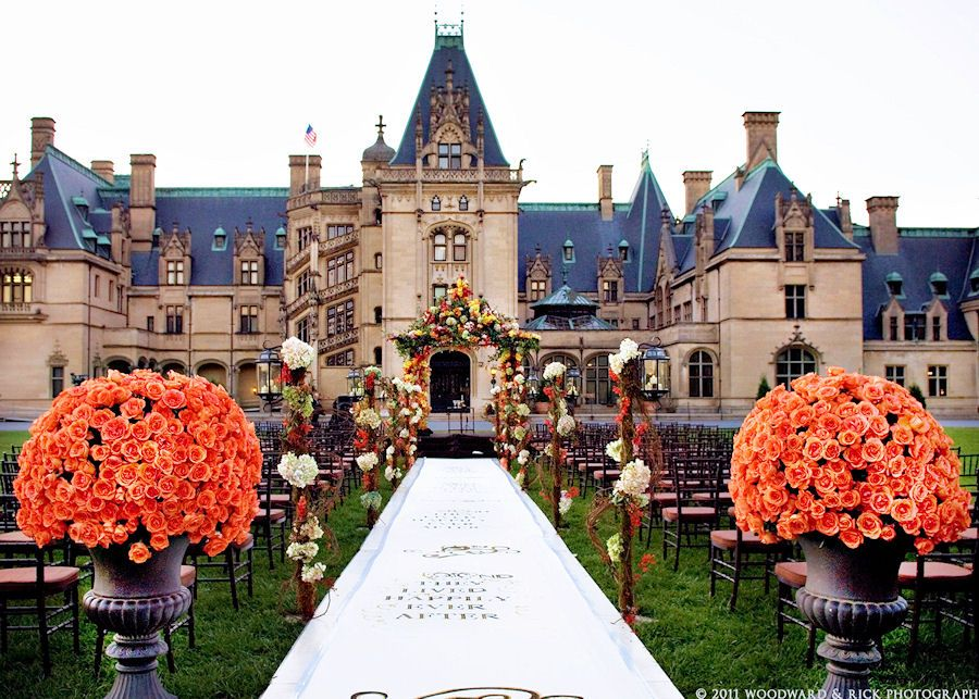 Biltmore House is one of the wedding locations in ...