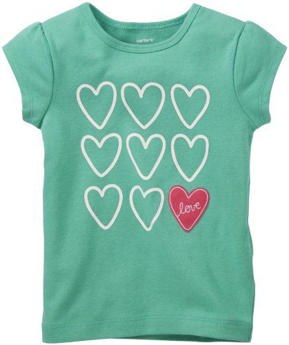 best - Carter's Little Girls' Embroidered Tee (Toddler/Kids) - Hearts - 3T Carter's http://www.amazon.com/dp/B00IY9IS8A/ref=cm_sw_r_pi_dp_UsUJtb0T6XS4WKTF