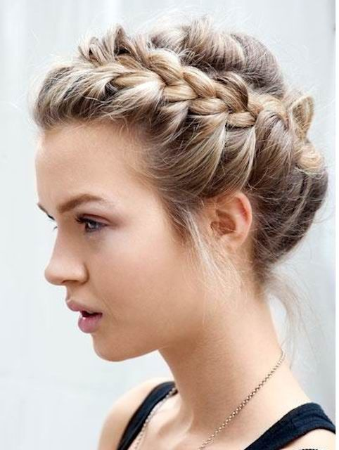 Incredible 1000 Images About Flechtfrisur On Pinterest Braid Hair The Short Hairstyles Gunalazisus