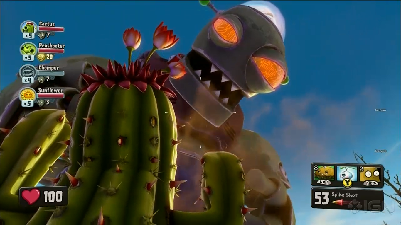 Plants vs. Zombies™ Garden Warfare digs into the trenches with an explosive new Co-op and Multiplayer action experience.
