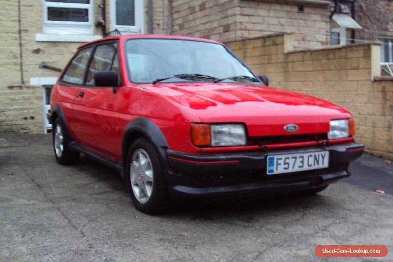 Car For Sale 1989 F Genuine Fiesta Xr2 Red Project Car 0 99