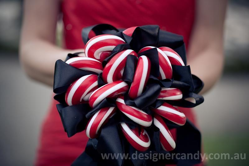 Designer Lollipop Bouquets Bride