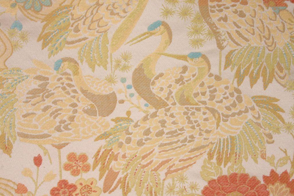 Claridge Claridge Crane Tapestry Upholstery Fabric In Mermaid