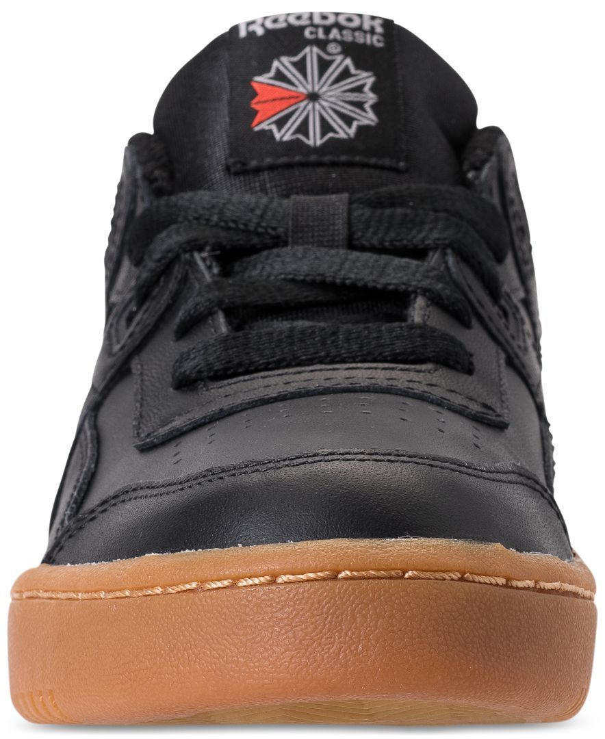 5215824084189 Head back to the basics in the iconic Reebok Boys  Classics Workout Plus  Casual Sneakers