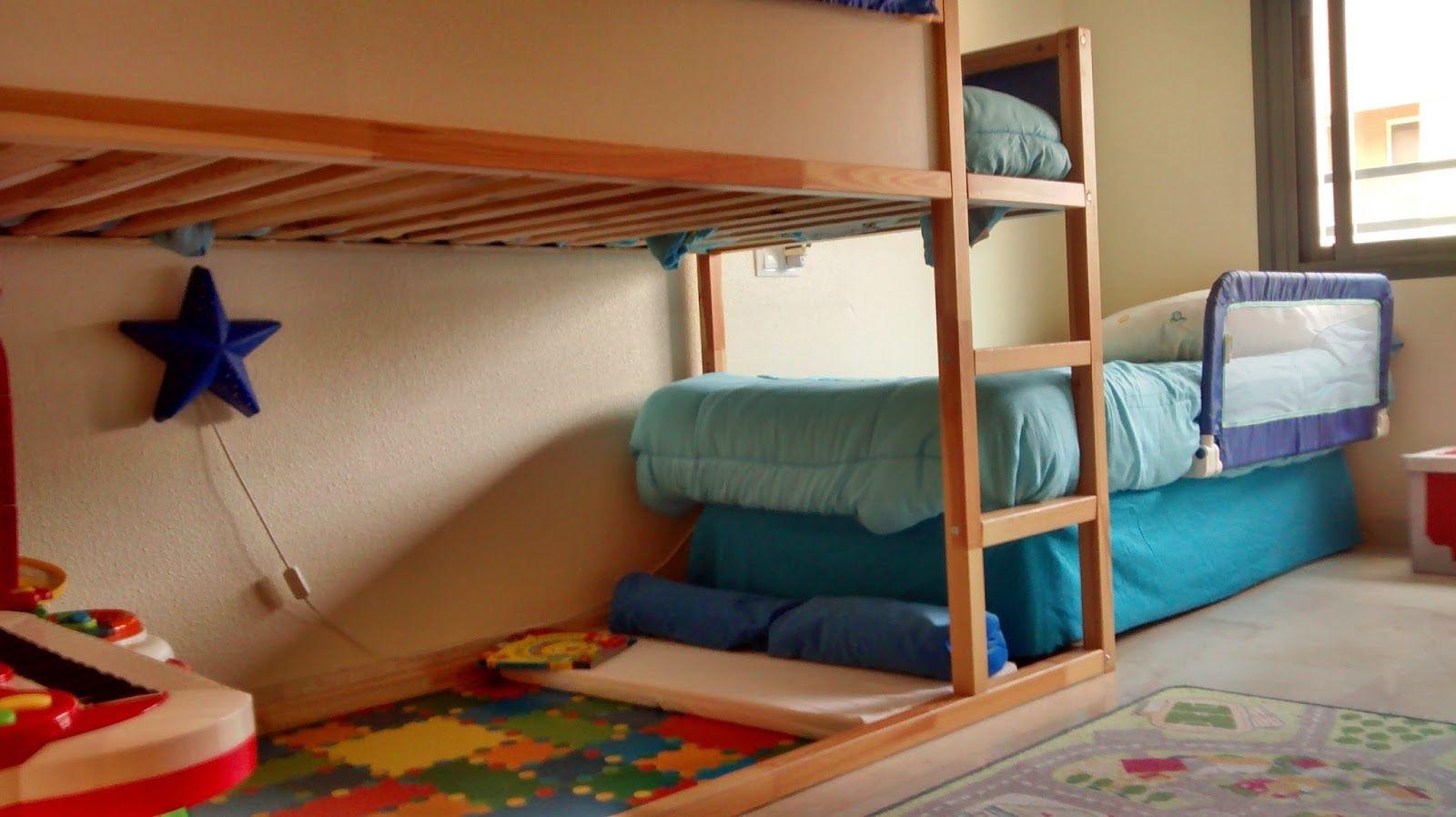 Cmo hacer unas literas en tren con la cama Kura de Ikea Tutorial