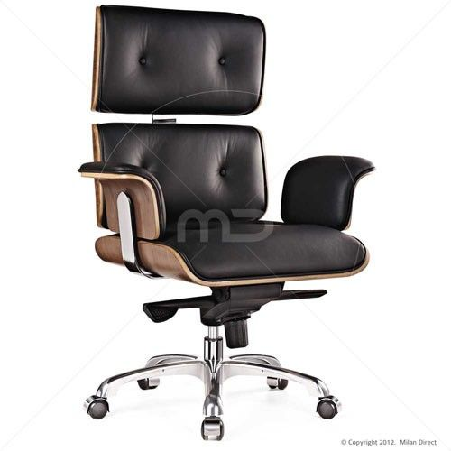 lounge office chair. Eames Office Replica Executive Chair - Furniture Online 4% OFF | $479.00 Milan Direct Lounge E