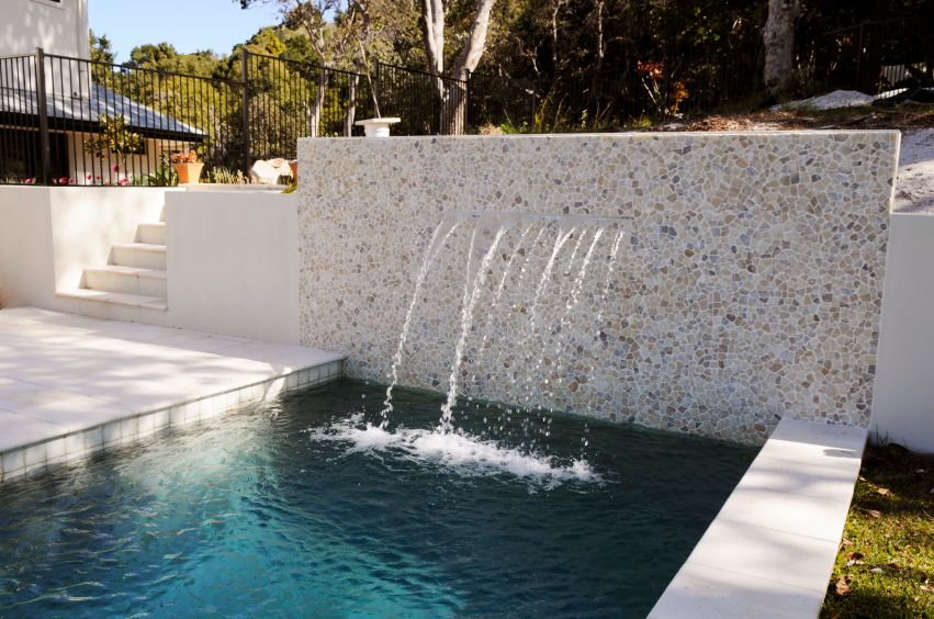 80 Fabulous Swimming Pools With Waterfalls (Pictures) | Wall
