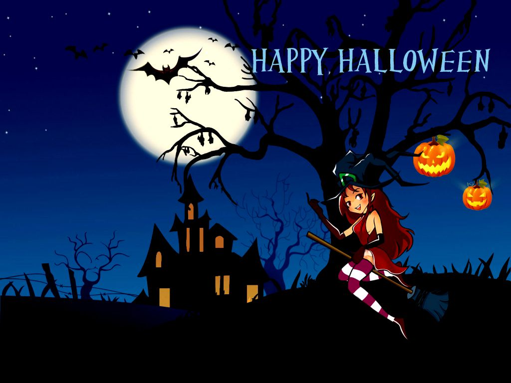 Freaky Hot Spooky Sexy Halloween Greeting Cards Wallpapers By