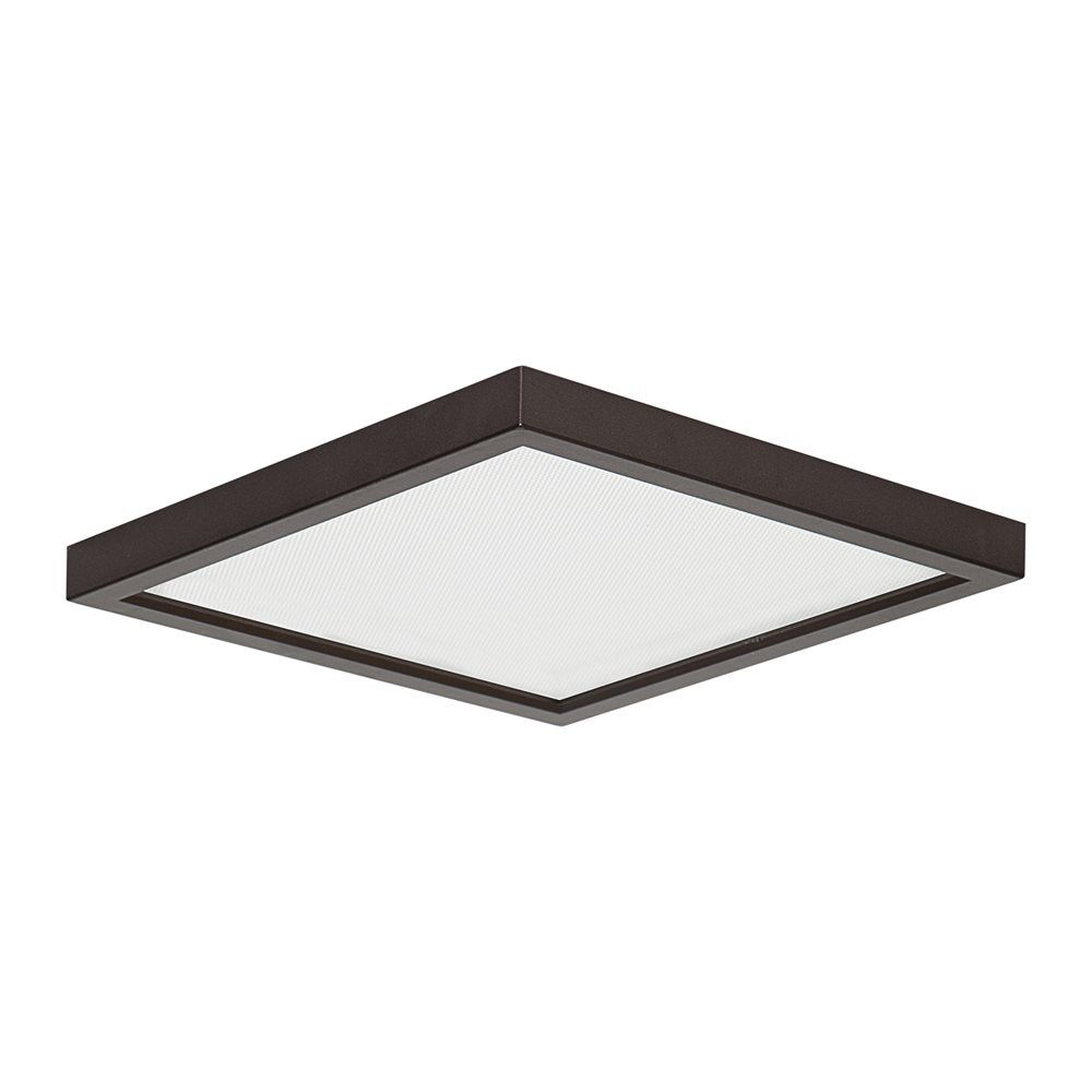 Shop Amax Lighting Led Sm8dl Led Slim Square Flush Mount Ceiling