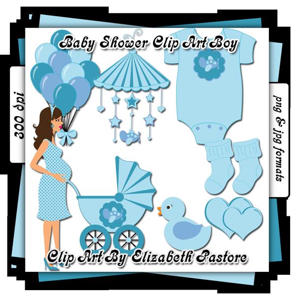 Baby Shower Clip Art Boy