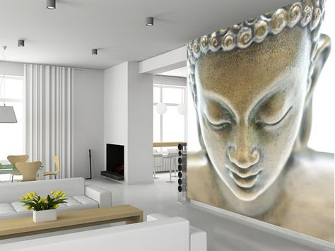 Beau Buddha Portrait Wallpaper Wall Mural | Wallsauce USA