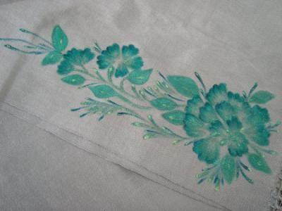 rebozo pintado a mano rebozo pintado tela,pintura textil pintura textil