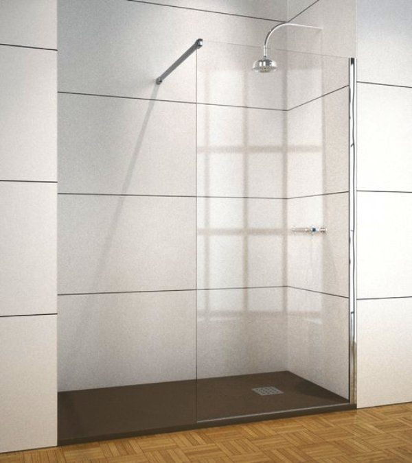 Mamparas de ducha 1 mindanao estandar una hoja fija - Mampara fija ducha ...