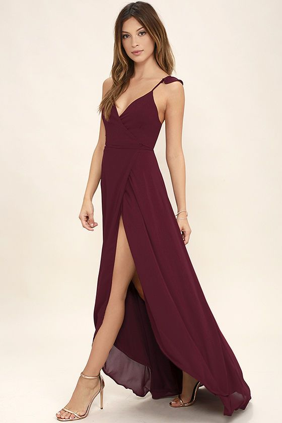 Wrap Around Evening Dresses 8