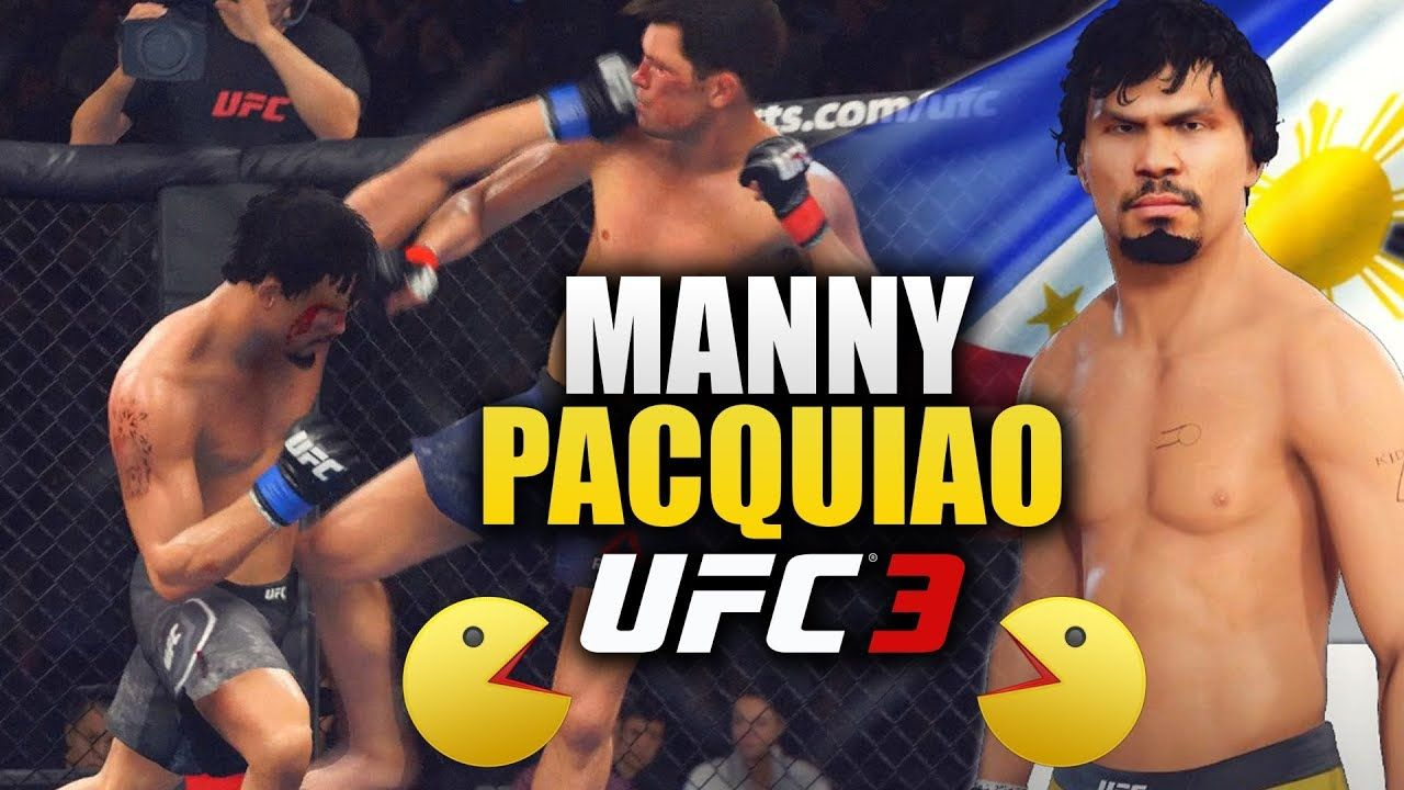 Ea Ufc 3 Manny Pacquiao In Ufc 3 Quick And Powerful Knockouts Ufc 3 O Ufc Manny Pacquiao Ea Sports Ufc