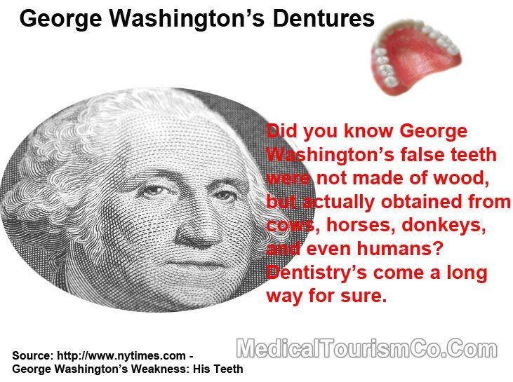 Interesting Dental Fact George Washington S False Teeth