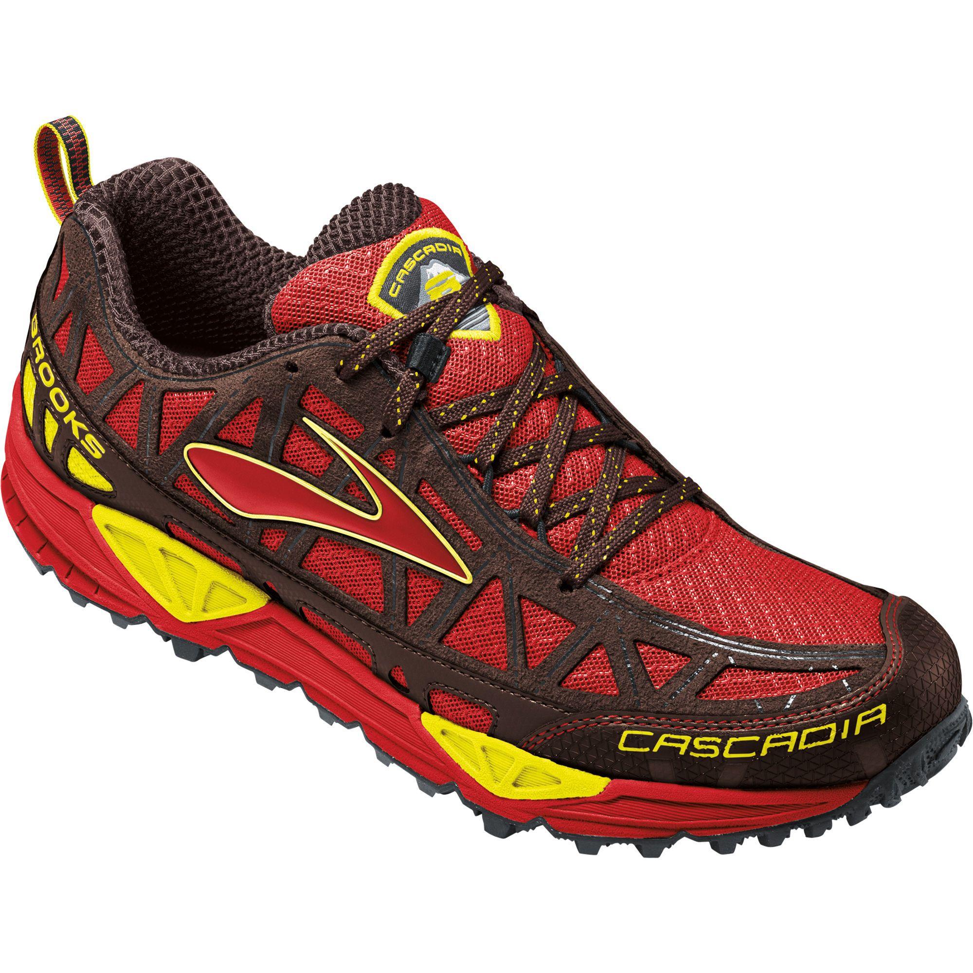8 Cascadia Trail Men's Brooks Running Fitness Destination Shoe qRCaw5d4w