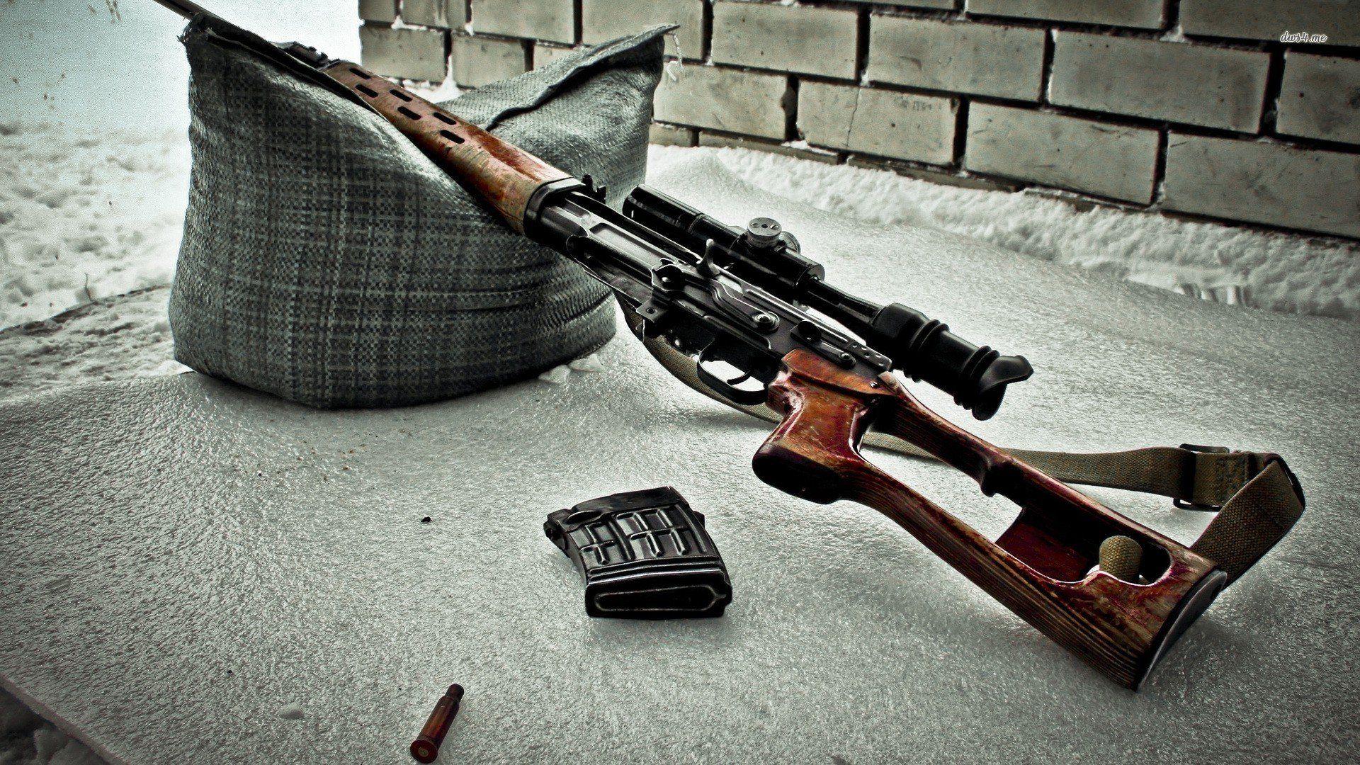 Dragunov Sniper Rifle Wallpaper