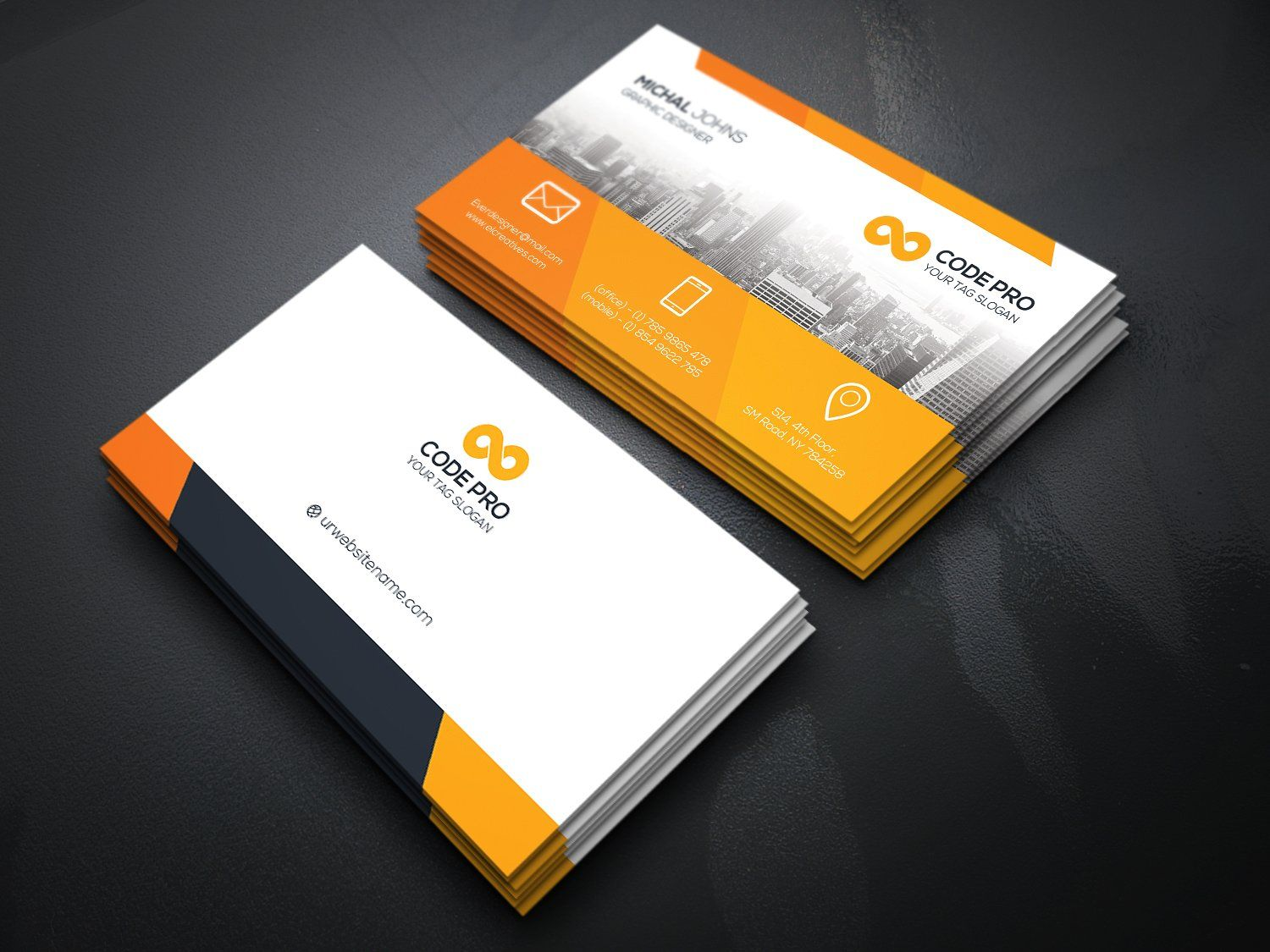 Business Card By Creative Idea On Creativemarket Photography Business Cards Professional Business Cards Business Cards