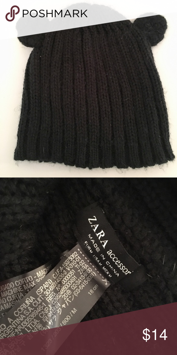 Zara Teddy Hat Zara Women Shopping Worn