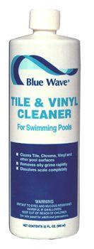 Tile Vinyl Cleaner Blue Wave For The Pool And Hot Tub Fibergl Shower Floor