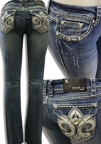e49d08523d9 Grace in LA bling jeans – All Things Country