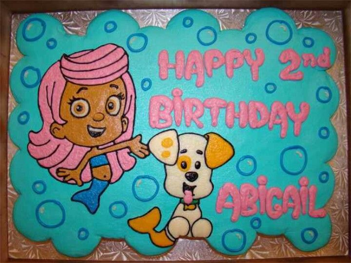 Astounding Bubble Guppies Cupcake Cake This Is Perfect With Images Funny Birthday Cards Online Hetedamsfinfo