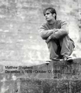 from Maximiliano matthew shepard gay facts