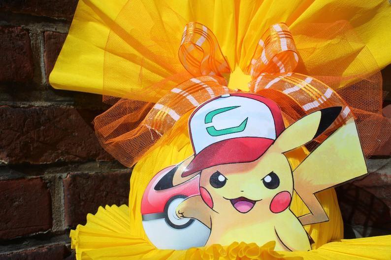 kreativ schultüte zuckertüte pokemon motiv wunschname